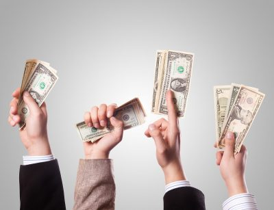 motivating sales teams with money