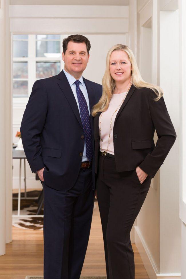 Bill Scott and Denise Price