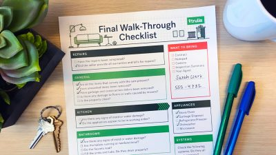 final walkthrough