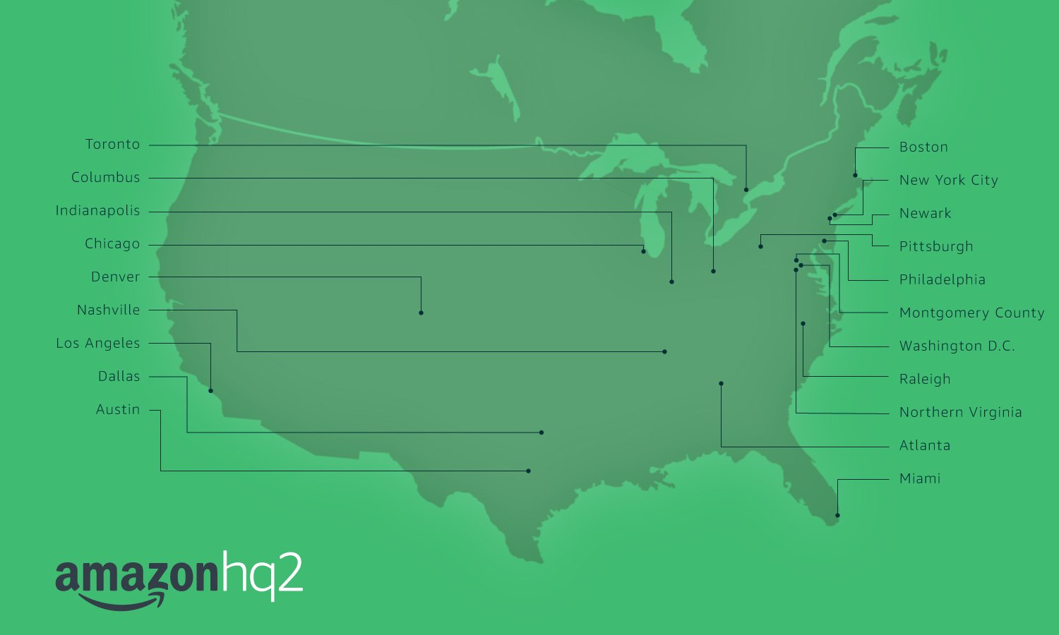 Amazon HQ2: A Macrocosm For Buyers And Sellers